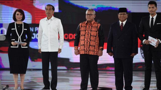 Debat Ke IV Pilpres, Joko Widodo, Prabowo Subianto