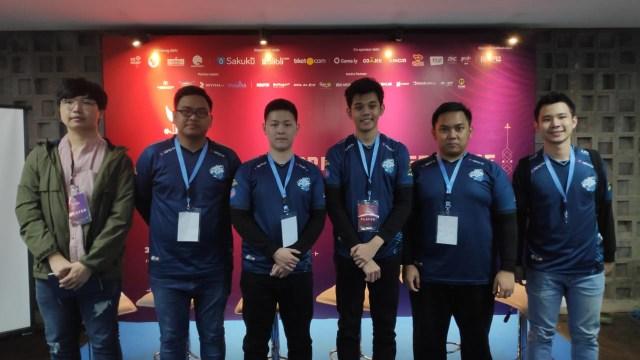 Tim EVOS di Piala Presiden eSports 2019