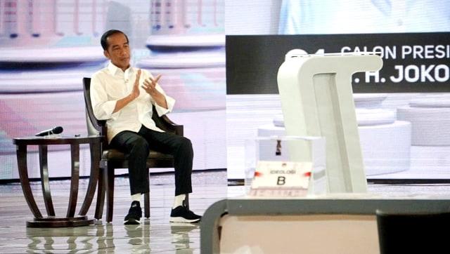 Debat Ke IV Pilpres 2019, Capres no urut 01, Joko Widodo, Hotel Shangri-La