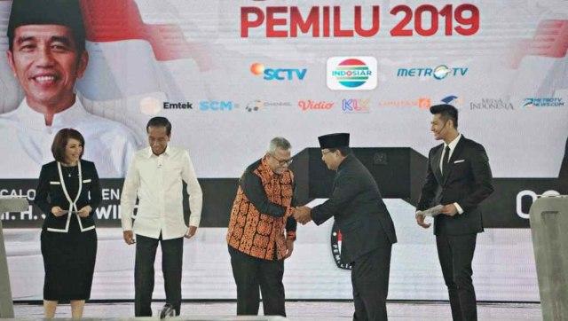 Debat Ke IV Pilpres, Jokowi, Prabowo
