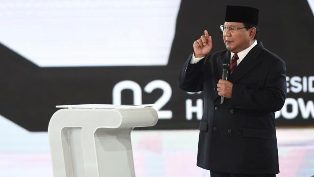 Debat Ke IV Pilpres, Prabowo Subianto, Menyampaikan Pendapat
