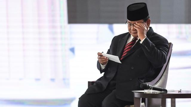 Debat Ke IV Pilpres, Prabowo Subianto