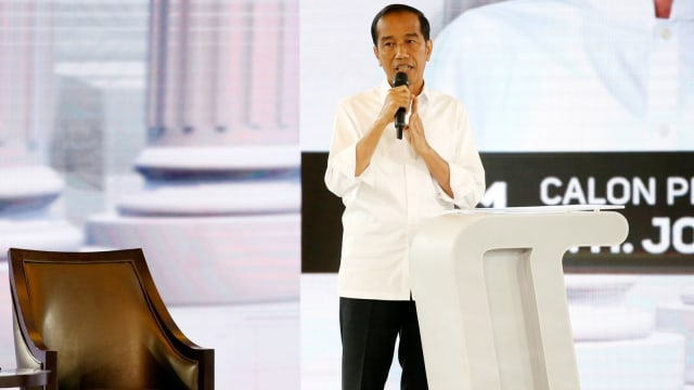 Debat Ke IV Pilpres, Joko Widodo