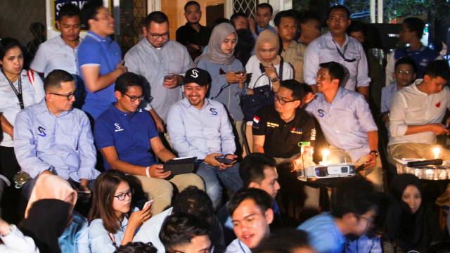 Earth Hour Indonesia, Sandiaga, Nobar