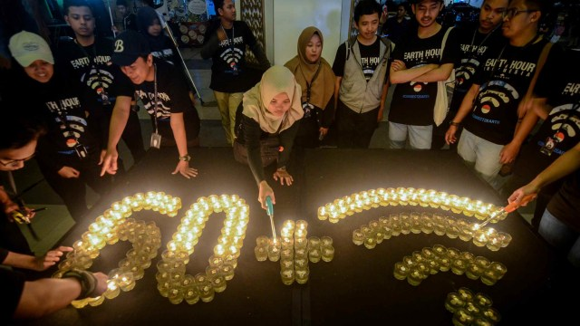 Earth Hour Indonesia, Bandung