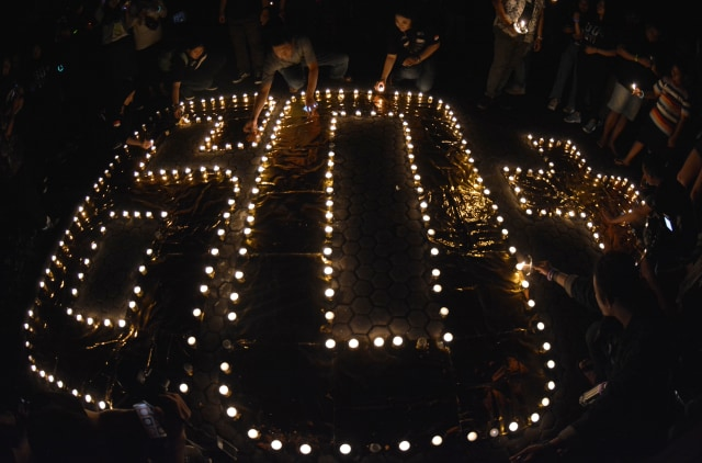 Earth Hour Indonesia, Bali (NOT COVER)