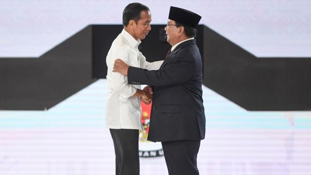 Debat Ke IV Pilpres, Joko Widodo, Prabowo Subianto, Salaman