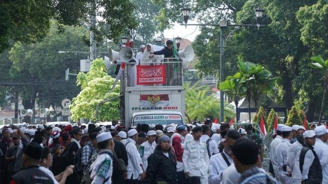 Forum Umat Islam (FUI) akan menggelar Apel Siaga Umat 313 di depan kantor KPU