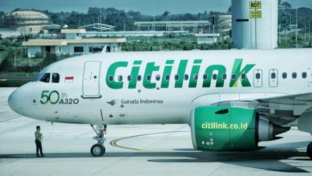 Citilink Tebar Promo, Diskon Tiket Pesawat 20 Persen Hingga Gratis Rapid Test (485268)