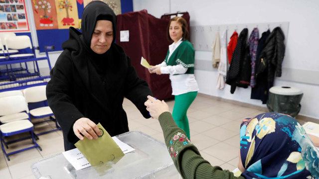 Suasana Pemilu Daerah di Turki