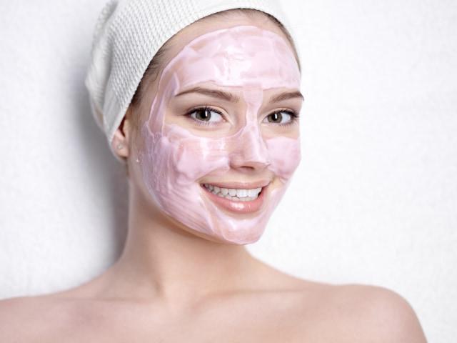 Ilustrasi masker wajah