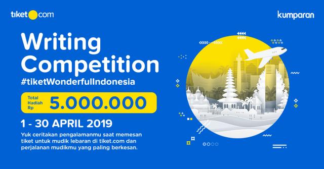 com-tiket.com Writing Competition 2019