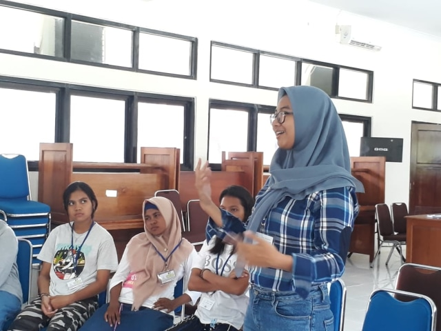 Girls Can Lead dan NVSC Ajak Perempuan Maluku Untuk Memimpin (151737)