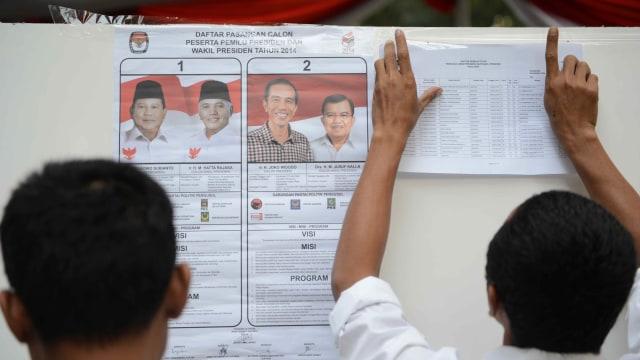LIPSUS, Para pengawas pemilu Independen, Ilustrasi suasana saat pencoblosan pemilu 2014