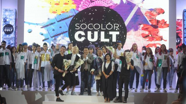 Tren Rainbow Melt dengan Socolor Cult