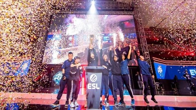 Tim AOV EVOS Juara ESL Clash of Nations Asia Tenggara