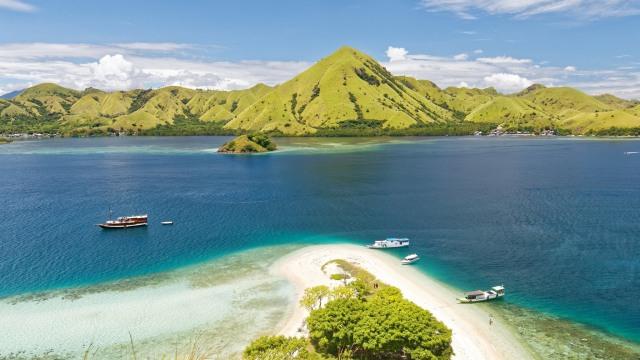 Pulau Kelor Labuan Bajo di Flores, NTT