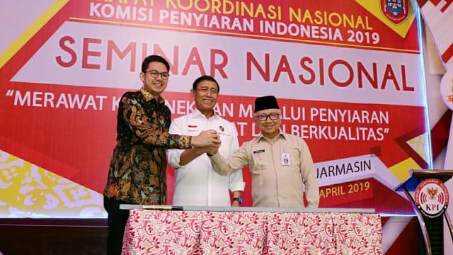 Wiranto Teken Prasasti Penyiaran di Kalimantan Selatan (149788)