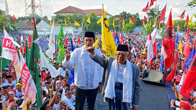 TGB Dampingi Ma'ruf Amin Kampanye di NTB: Optimis untuk Indonesia Maju (562289)
