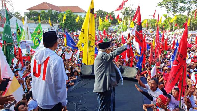 TGB Dampingi Ma'ruf Amin Kampanye di NTB: Optimis untuk Indonesia Maju (562290)