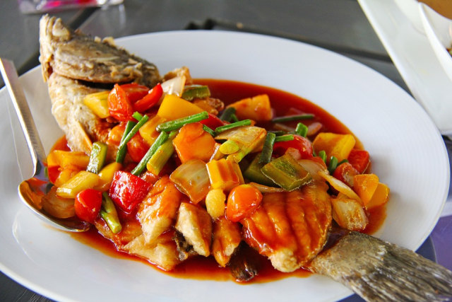Resep Masakan Ikan Mujair Asam Manis Pedas Nan Sedap Kumparan Com
