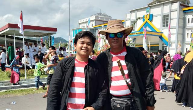 Pawai Budaya HUT ke-204 Dompu, Merayakan Keberagaman Indonesia (66207)