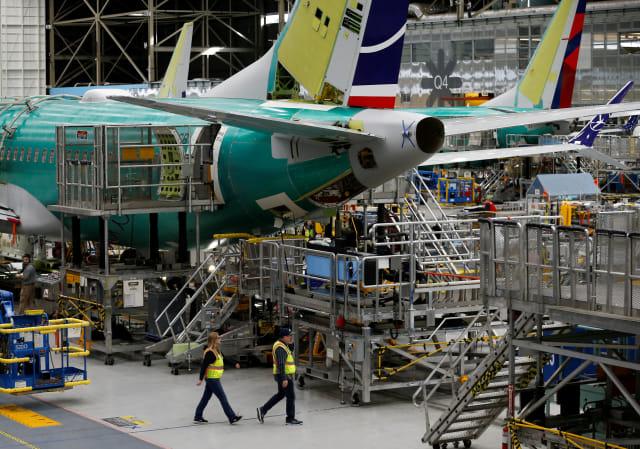 Pabrik Boeing 737 Max