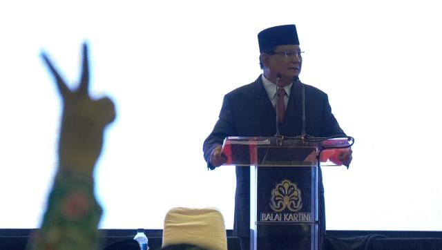 Prabowo Subianto, Gerakan Elaborasi Rektor Akademisi Alumni & Aktivis Kampus Indonesia di Balai Kartini, Jakarta
