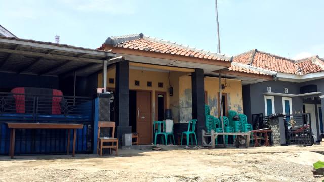 Kediaman Ria Nurhayati di Gunung Putri, Kabupaten Bogor