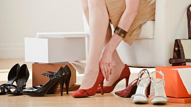 Ilustrasi, Sepatu High Heels