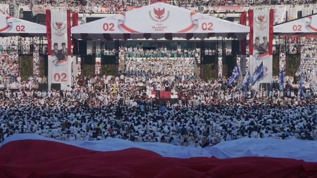 Kampanye akbar, Prabowo-Sandi, GBK