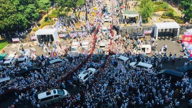 Kampanye Akbar, Prabowo Sandi, Stadion GBK