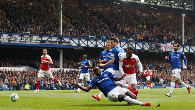 Everton vs Arsema;