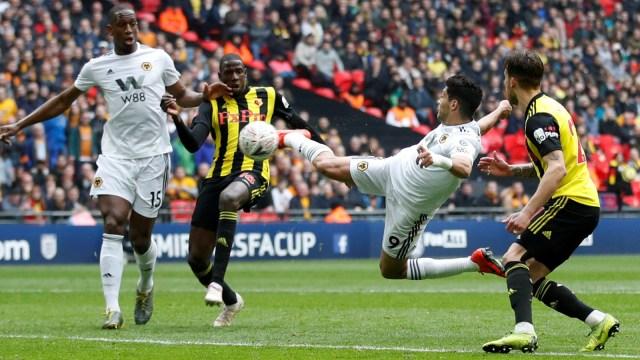 Semi Final Piala FA, Wolverhampton Wanderers melawan Watford