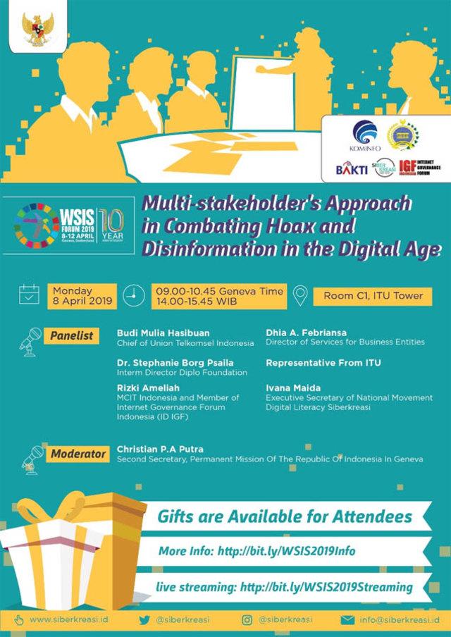 "Membanggakan, Indonesia pada Forum ""Internet"" PBB di Jenewa (80940)"