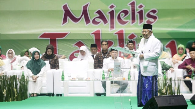 Jawaban Ma'ruf Amin Tanggapi Survei Puskaptis yang Menangkan Prabowo (51817)