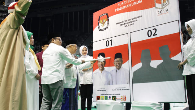 Jawaban Ma'ruf Amin Tanggapi Survei Puskaptis yang Menangkan Prabowo (51816)