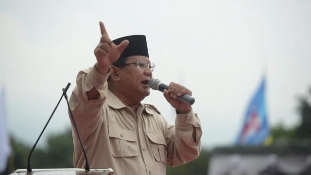 Kampanye Capres nomor urut 02, Prabowo Subianto di Yogyakarta