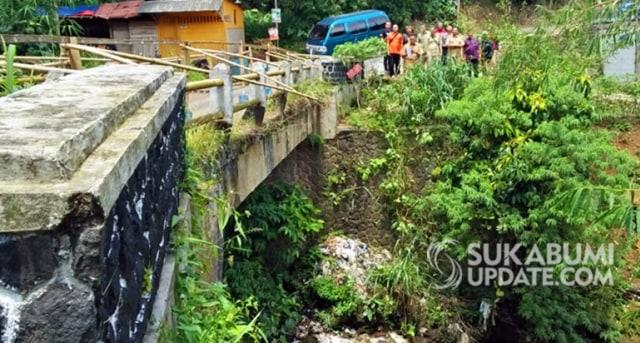 10 Jembatan di Kabupaten Sukabumi Rusak (758821)
