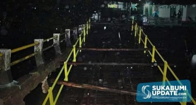 10 Jembatan di Kabupaten Sukabumi Rusak (758823)