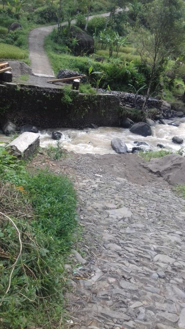 10 Jembatan di Kabupaten Sukabumi Rusak (758824)