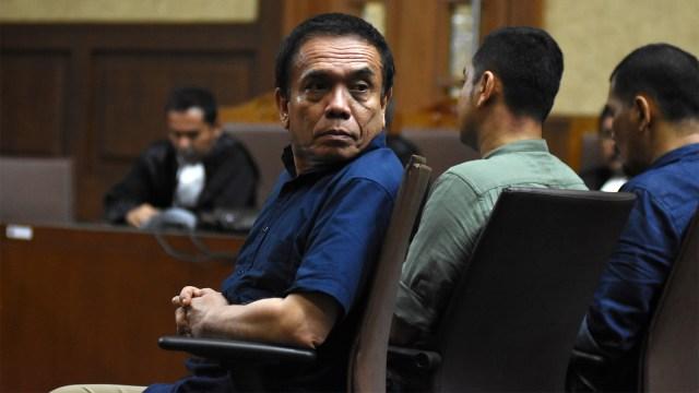 Foto: Vonis Kasus Suap dan Gratifikasi Gubernur Aceh Irwandi Yusuf (245855)