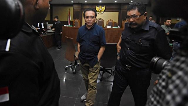 Foto: Vonis Kasus Suap dan Gratifikasi Gubernur Aceh Irwandi Yusuf (245858)
