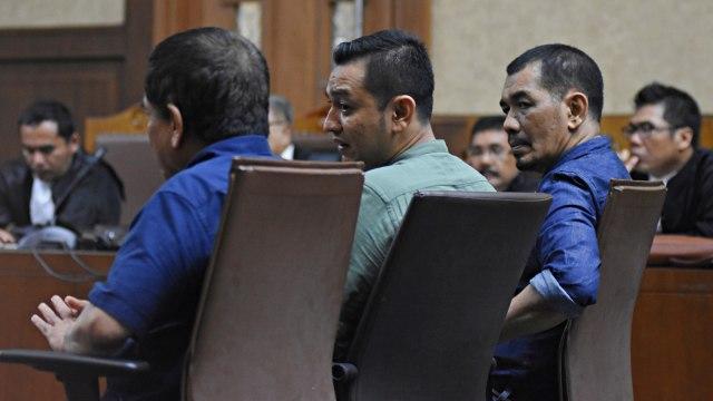 Foto: Vonis Kasus Suap dan Gratifikasi Gubernur Aceh Irwandi Yusuf (245857)