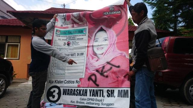 Spanduk Jokowi di Brebes Ditulisi 'Banci' dan 'PKI' (233744)