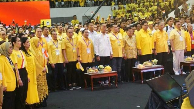 Wakil Presiden Jusuf Kalla, hadiri kampanye akbar partai Golkar