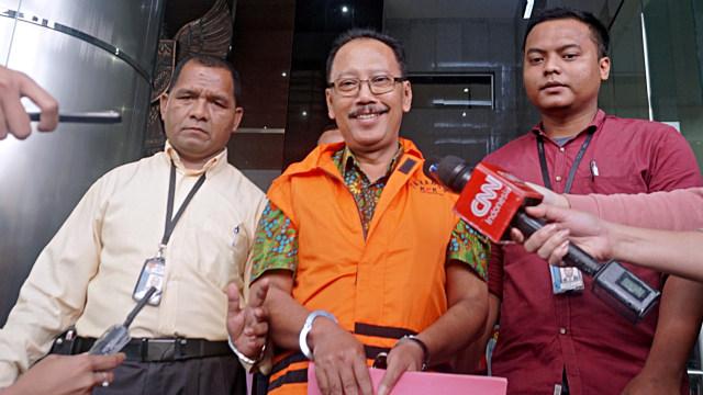 Mantan Sekertaris Daerah Malang, Cipto Wiyono, KPK