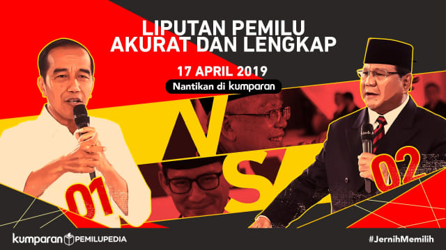 Poster Pemilu 2019