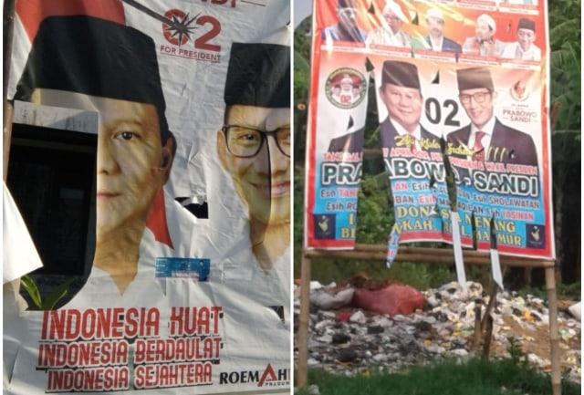 Alat Peraga Kampanye Prabowo-Sandi di Brebes Dirusak (413)