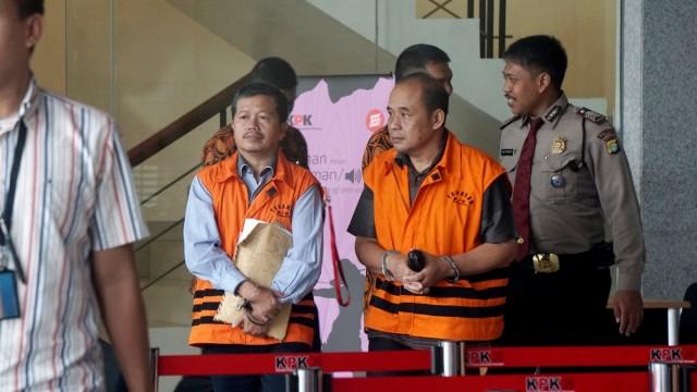 Kadisdik Cianjur, Cecep Sobandi, Kabid SMP Dinas Pendidikan Cianjur, Rosidin, Pemeriksaan lanjutan di KPK,